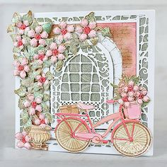 Heartfelt Creations exists to dynamically inspire, uplift, and add value to papercrafters. Card Making Tutorials, Making Ideas, Heartfelt Creations Cards, Red Geraniums, Clear Glue, Punch Art, Owl Punch, Paper Crafts, Diy Crafts