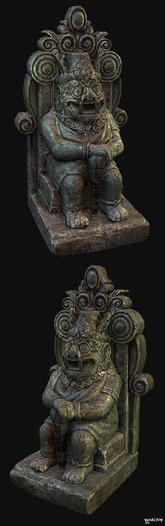 Maya Statue (RealTime) - Jonas Ronnegard