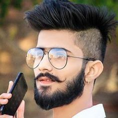 """New """"boy hairstyles images"""" Trending Boy Amazing hairstyle pic collection 2019 Mens Hairstyles With Beard, Hair And Beard Styles, Haircuts For Men, Cool Hairstyles, Long Hair Styles, Barber Haircuts, Indian Hairstyles, Boys Beard Style, Boys Haircut Styles"""