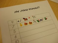 Great for 1:1 number correspondence, and for using some of my stickers!