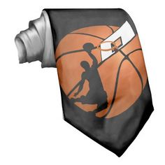 Slam Dunk Basketball Player w/Hoop on Ball Neck Wear shipping to Glenview, IL  #basketball #gravityx9  #zazzle