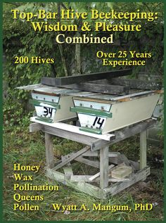 This book contains all you need for a completely sustainable Top-Bar Hive beekeeping system. The results rest on scientific principles and careful observations from managing 200 Top-Bar Hives with over 25 years experience. This is beekeeping with Integrated Pest Management practices (IPM), the bees rarely if ever needing chemical treatments.