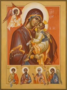 Faith Of Our Fathers, Roman Church, Orthodox Christianity, Love Mom, Orthodox Icons, Blessed Mother, Sacred Art, Religious Art, Our Lady