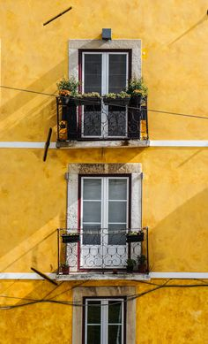 Seeing yellow #travel #architecture