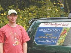 """Birdscaping"" Business Finding Lots Of Clients Farm Show, Backyard Birds, Native Plants, Bird Feeders, Business, Store, Business Illustration, Teacup Bird Feeders"