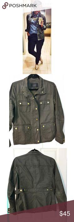 Selling this J.Crew Downtown Field Jacket on Poshmark! My username is: bri_oliver. #shopmycloset #poshmark #fashion #shopping #style #forsale #J. Crew #Jackets & Blazers