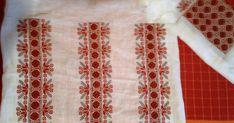 un blog pentru casă şi grădină Folk Embroidery, Embroidery Patterns, Embroidery Techniques, Two Piece Skirt Set, Sewing, Blog, Fun, Fashion, Needlepoint Patterns