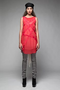 Taylor 'Follow the line' collection, Winter 2013 www.taylorboutique.co.nz Taylor Boutique - Traced Tunic