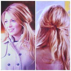 """Beautiful Serena Van der Woodsen hair   - Season 5, Episode 17 """"The Princess Dowry"""" -    Half up half down Loose waves  Dirty blonde   Gossip Girl"""