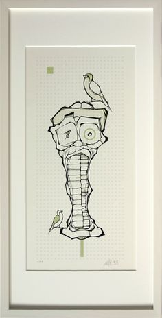screenprint 04 omega cbu Bird Illustration, Illustrations, Omega, Screen Printing, Canvas, Fictional Characters, Art, Tela, Craft Art