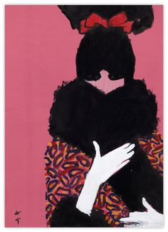 In fashion illustration, there is one master, and he is Rene Gruau.