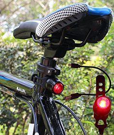 USB Rechargeable Ultra Bright DEL vélo Arrière Feu Arrière Casque Light Bar 150 T