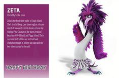 Angry Birds 2 Birthday Ecards Happy Birthday Ecard, 2nd Birthday, Birthday Cards, Birthday Ideas, Angry Birds 2 Movie, Leslie Jones, Betty Boop Cartoon, Tropical Beaches, Disney And Dreamworks