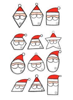 #premateryal #okulöncesi #anasınıfı #anaokulu #anaokuluetkinlikleri #sekiller #şekiller #yeniyil #noel #kış #shapes #santashapes #gingerman #reindeer #santa #kindergarten #preschool #christmasshapes #christmas Christmas Colors, Christmas Themes, Christmas Crafts, Preschool Christmas, Christmas Activities, English Games For Kids, Clipart Noel, Christmas Cards Drawing, Class Art Projects