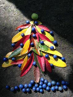 natural art found by a friend in botanical garden. unknown artist