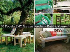 35 Popular DIY Garden Benches You Can Build It YourselfStudioAflo | Interior Design Ideas | StudioAflo | Interior Design Ideas