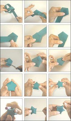 Origami for Everyone – From Beginner to Advanced – DIY Fan Origami Fish, Paper Crafts Origami, Origami Stars, Origami Flowers, Diy Paper, Paper Crafting, Paper Flowers, Dollar Origami, Origami Ball