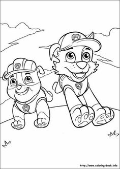 Rubble Paw Patrol Coloring Page . Rubble Paw Patrol Coloring Page . Step by Step How to Draw Rubble From Paw Patrol Paw Patrol Rocky, Rubble Paw Patrol, Paw Patrol Party, Paw Patrol Birthday, Paw Patrol Coloring Pages, Quote Coloring Pages, Cartoon Coloring Pages, Disney Coloring Pages, Free Printable Coloring Pages