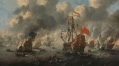 How an audacious Dutch raid destroyed the English fleet in 1667 and caused panic in London. Anglo Dutch Wars, Nautical Pictures, Naval History, Teaching History, British Isles, World History, 17th Century, Archaeology, Fantasy Art