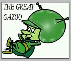 Remember when.The Great Gazoo (The Flintstones) My Childhood Memories, Childhood Toys, Great Memories, Old School Cartoons, Old Cartoons, Classic Cartoon Characters, Classic Cartoons, Nostalgia, Saturday Morning Cartoons