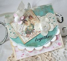 Another beautiful card by Beatriz Jennings.