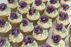 Purple Rose Cupcakes | Flickr - Photo Sharing!