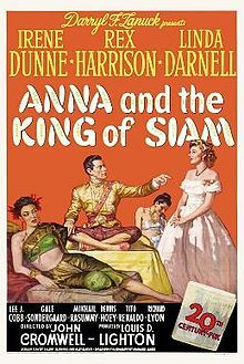Anna and the King of Siam is a 1946 drama film directed by John Cromwell. An adaptation of the 1944 book by Margaret Landon, it was based on the diaries of Anna Leonowens, a British governess in the Royal Court of Siam (now modern Thailand) during the 1860s. Darryl F. Zanuck read Landon's book in galleys and immediately bought the film rights. The story mainly concerns the culture clash of the Imperialist Victorian values of the British Empire with the autocratic rule of Siam's King Mongkut.