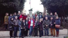 visita guidata con un gruppo di russi con Apulia House
