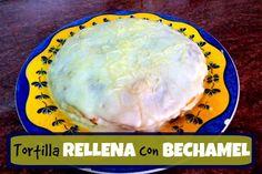 Tortilla con bechamel