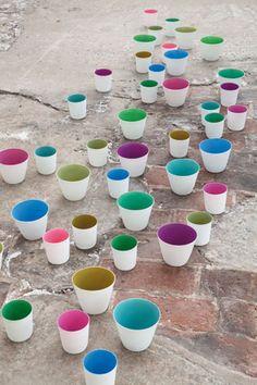 pottery Serax  a spot of color
