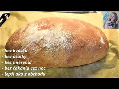 Czech Recipes, Dumplings, Side Dishes, Food And Drink, Pizza, Homemade, Cooking, Easy, Tube