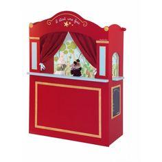 Moulin Roty  Le Castelet marionnette avec décor