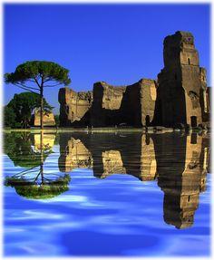 Rome, Baths of Caracalla