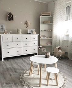 Good Pics Shabby Chic Bedrooms neutral Strategies Previously a long time, the decorative term 'poor fashionable'was implemented often for a go-to with regards to tre Baby Girl Room Decor, Baby Room Design, Baby Boy Rooms, Baby Bedroom, Room Decor Bedroom, Kids Bedroom, Shabby Chic Bedrooms, Nursery Furniture, Home Decor