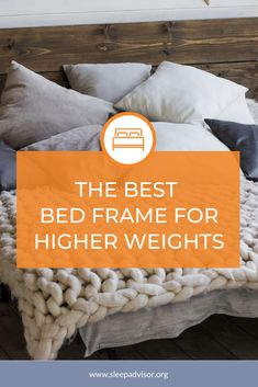 Best Bed Frame for a Heavy Person - Our Top 5 Heavy Duty Picks in 2019 - Iago Mostin Metal Platform Bed, Body Check, Warm Bedroom, Sleep Solutions, Healthy Sleep, Best Mattress, Metal Beds, Bed Frames, Good Sleep