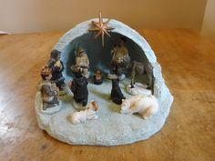Igloo/Alaska Nativity Scene by Alaska Jacks  | eBay