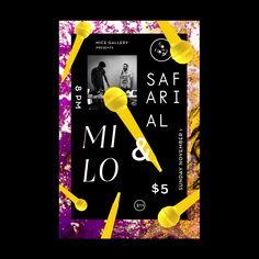 Milo Show Poster on Behance
