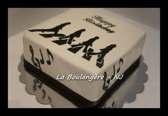 Music lover cake, Abbey Road Cake, The Beatles
