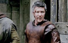 Aidan Gillen behind the scenes of King Arthur