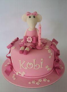 Angelina Ballerina Birthday Cake Last Minute Order. Ballerina Cakes, Ballerina Birthday, 3rd Birthday Cakes, Birthday Ideas, Cupcake Cakes, Cupcakes, Angelina Ballerina, Amazing Cakes, Party Ideas