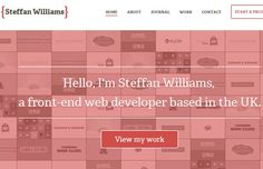 steffan williams website design portfolio header clean (scheduled via http://www.tailwindapp.com?utm_source=pinterest&utm_medium=twpin&utm_content=post12680010&utm_campaign=scheduler_attribution)