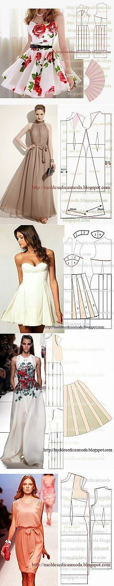 Amazing Sewing Patterns Clone Your Clothes Ideas. Enchanting Sewing Patterns Clone Your Clothes Ideas. Sewing Dress, Dress Sewing Patterns, Diy Dress, Sewing Clothes, Clothing Patterns, Fashion Sewing, Diy Fashion, Womens Fashion, Diy Vetement