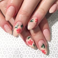Nail art Christmas - the festive spirit on the nails. Over 70 creative ideas and tutorials - My Nails Nude Nails, Acrylic Nails, Hair And Nails, My Nails, Flower Nail Art, Nail Games, Nail Trends, Nails On Fleek, Manicure And Pedicure