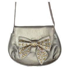 Minerva Collection Small Bow Cross Body