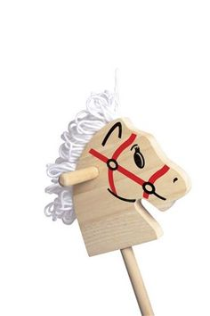 Wooden Stick Horse Head Pattern