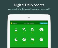 Check out Kaymbu's Daily Note app to eliminate paper and countless hours spent writing notes by hand-- now available for free in the App Store! Kids Education, Special Education, Classroom Organization, Classroom Management, Parent Communication, Classroom Behavior, Classroom Inspiration, Too Cool For School, Teaching Tips