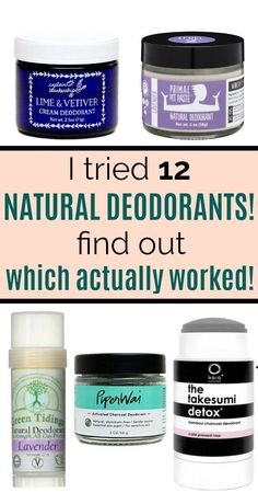 This post about the best natural deodorant brands is SO helpful! It's so difficult to find a natural Best Organic Deodorant, Best Aluminum Free Deodorant, Kids Deodorant, Natural Deodorant That Works, Vegan Deodorant, Deodorant For Women, Homemade Deodorant, Organic Shampoo, Anti Aging
