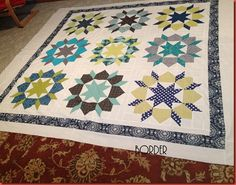 swoon quilt with border to make it king size