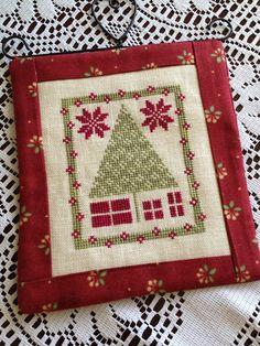 A Kiwi Stitching : A Selection of 2012 Just Cross Stitch Ornaments Christmas Morning by the Stitcherhood