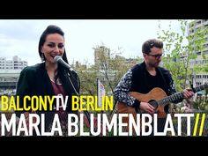 MARLA BLUMENBLATT bei BalconyTVBerlin  https://www.balconytv.com/berlin https://www.facebook.com/BalconyTVBerlin